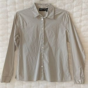 Style &Co. Stretch fit dress shirt, untuck style